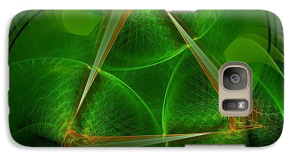 Galaxy Case featuring the digital art Citrus by Linda Whiteside