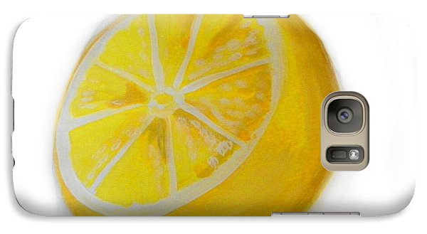 Galaxy Case featuring the painting Citrus by Marisela Mungia