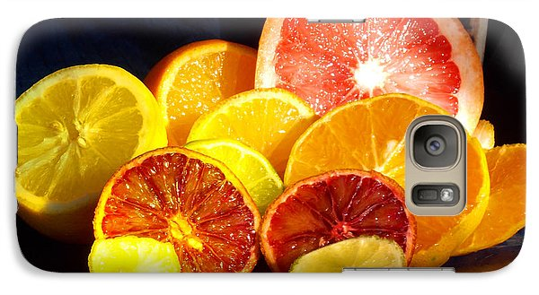 Galaxy Case featuring the photograph Citrus Season by Anastasia Savage Ealy