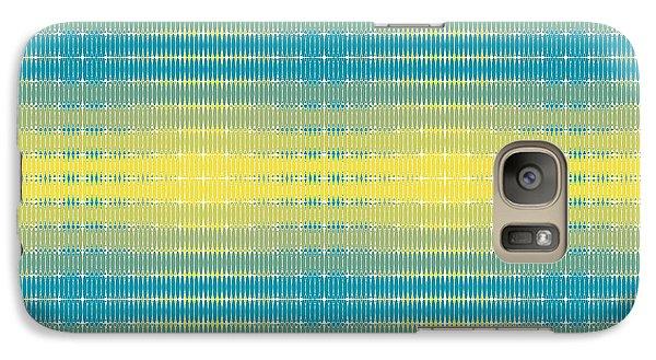 Galaxy Case featuring the digital art Citrus Warp 3 by Kevin McLaughlin