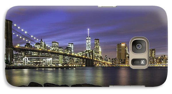 Galaxy Case featuring the photograph City 2 City by Anthony Fields