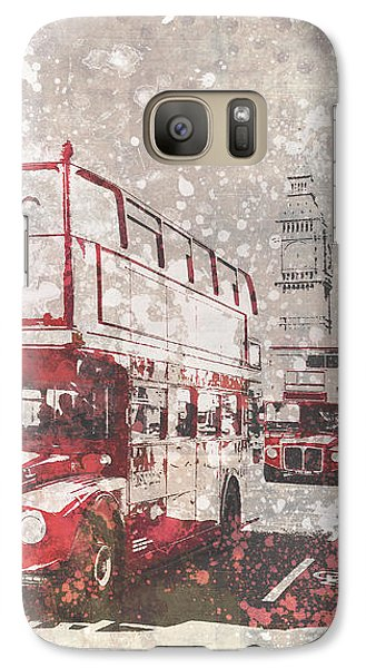 City-art London Red Buses II Galaxy S7 Case