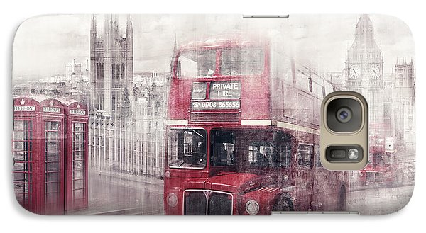 City-art London Westminster Collage II Galaxy S7 Case