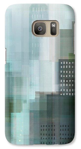 City Emerald Galaxy S7 Case by Dan Meneely