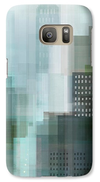 City Scenes Galaxy S7 Case - City Emerald by Dan Meneely
