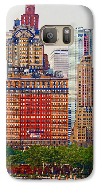 Galaxy Case featuring the photograph City High by B Wayne Mullins