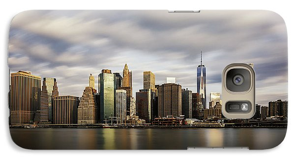 Galaxy Case featuring the photograph City Of Light by Anthony Fields