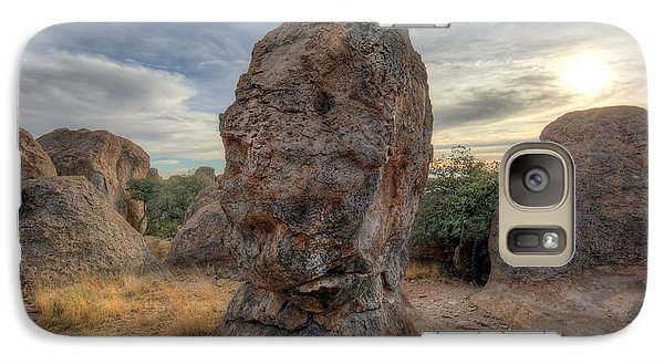 Galaxy Case featuring the photograph City Of Rocks by Martin Konopacki