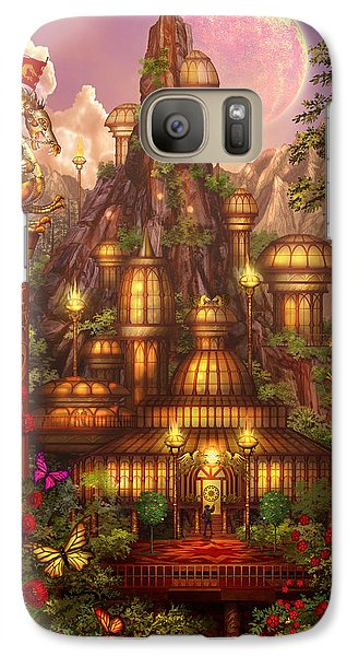 City Of Wands Galaxy Case by Ciro Marchetti