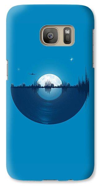 City Scenes Galaxy S7 Case - City Tunes by Neelanjana  Bandyopadhyay
