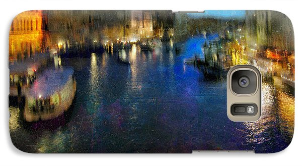 Galaxy Case featuring the photograph Cityscape #19. Venetian Night by Alfredo Gonzalez