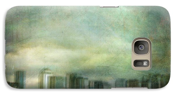 Galaxy Case featuring the photograph Cityscape #32. Chrystalhenge by Alfredo Gonzalez