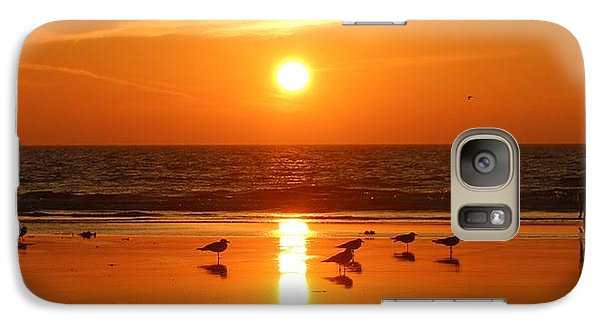 Clam Digging At Sunset - 2 Galaxy S7 Case