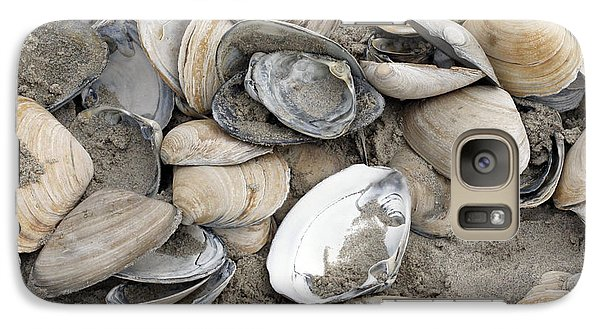 Galaxy Case featuring the photograph Clam Shell Beach  by Denise Pohl