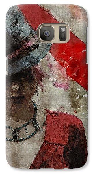 Galaxy Case featuring the digital art Clandestine by Galen Valle