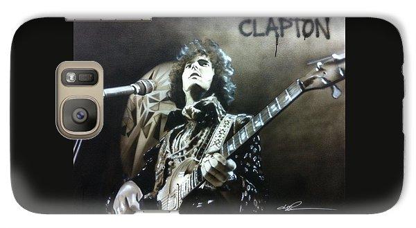 Eric Clapton Galaxy S7 Case - Clapton by Christian Chapman Art