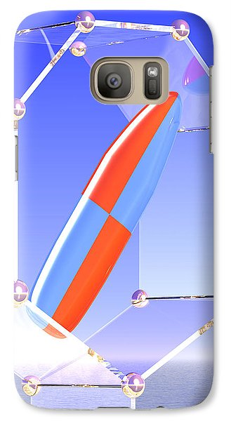 Galaxy Case featuring the digital art Clarity by Andreas Thust
