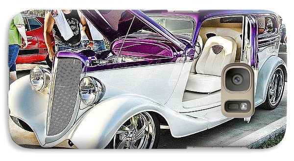 Galaxy Case featuring the photograph Classic Auto   by Dyle   Warren