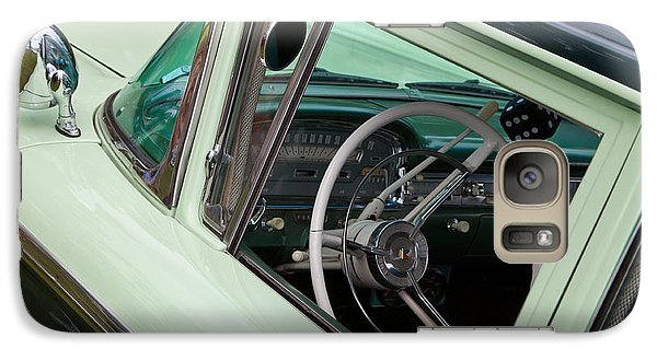 Galaxy Case featuring the photograph Classic Automobile Interior by Mick Flynn
