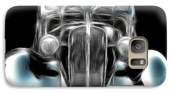 Galaxy Case featuring the photograph Classic Car Abstract by JRP Photography