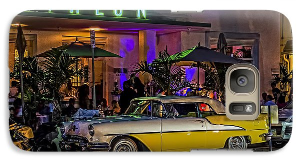Galaxy Case featuring the photograph Classic Car At The Avalon by Rob Tullis