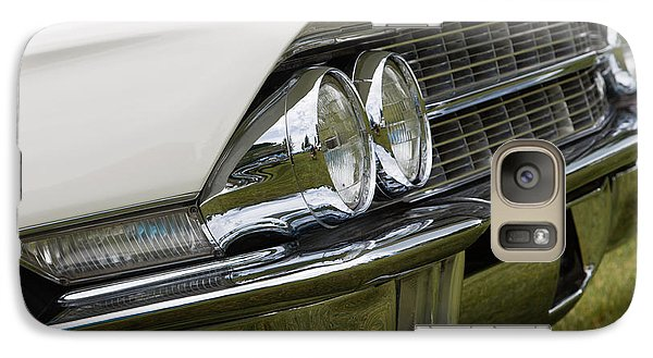 Galaxy Case featuring the photograph Classic Car Front Wing And Lights by Mick Flynn