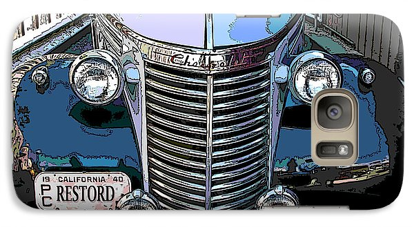 Galaxy Case featuring the photograph Classic Chevy Pickup 1 by Samuel Sheats