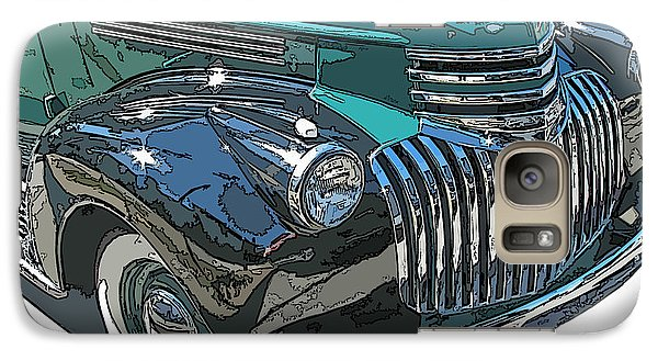 Galaxy Case featuring the photograph Classic Chevy Pickup 2 by Samuel Sheats