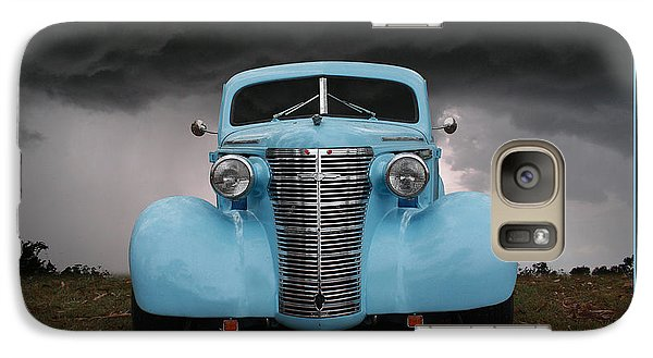 Galaxy Case featuring the photograph Classic In Blue by Keith Hawley
