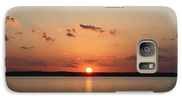 Galaxy Case featuring the photograph Classic Lake Sunset by Ellen O'Reilly