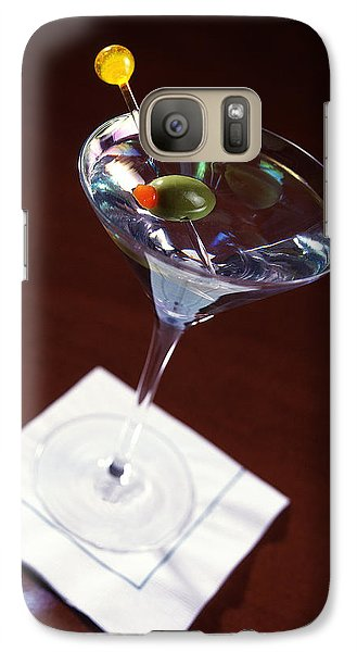 Classic Martini Galaxy S7 Case by Jon Neidert