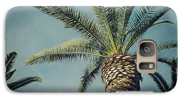 Galaxy Case featuring the photograph Classic Palms2 by Meghan at FireBonnet Art