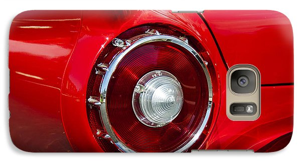 Galaxy Case featuring the photograph 1957 Ford Thunderbird Classic Car  by Jerry Cowart