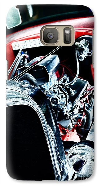 Galaxy Case featuring the digital art Classic Red by Erika Weber