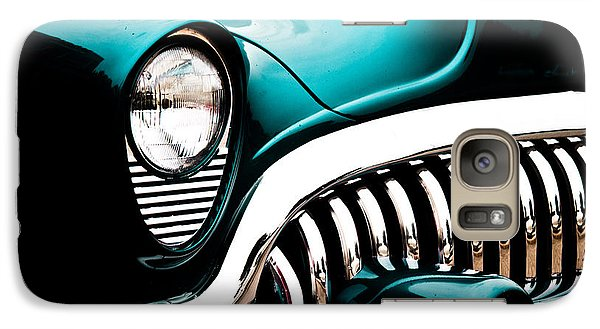 Galaxy Case featuring the photograph Classic Turquoise Buick by Joann Copeland-Paul