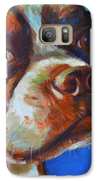Galaxy Case featuring the painting Classy Hank by Robert Phelps