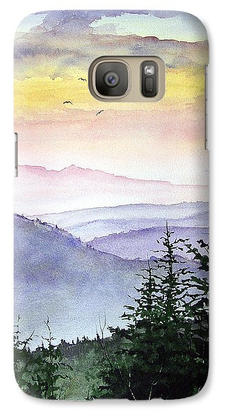 Mountain Galaxy S7 Case - Clear Mountain Morning II by Sam Sidders