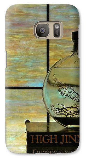 Galaxy Case featuring the photograph Clear On Color by Jean Goodwin Brooks
