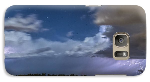 Galaxy Case featuring the photograph Clearing Storm by Rob Graham