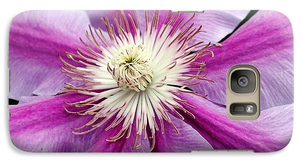 Galaxy Case featuring the photograph Clematis by Kelly Nowak