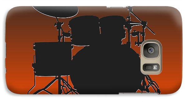 Cleveland Browns Drum Set Galaxy S7 Case by Joe Hamilton