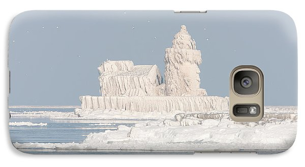 Cleveland Harbor West Pierhead Light II Galaxy S7 Case