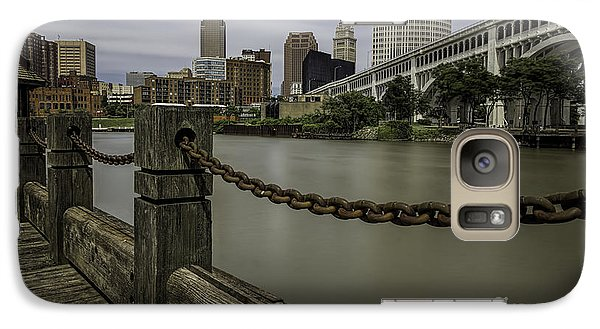 Cleveland Ohio Galaxy S7 Case by James Dean