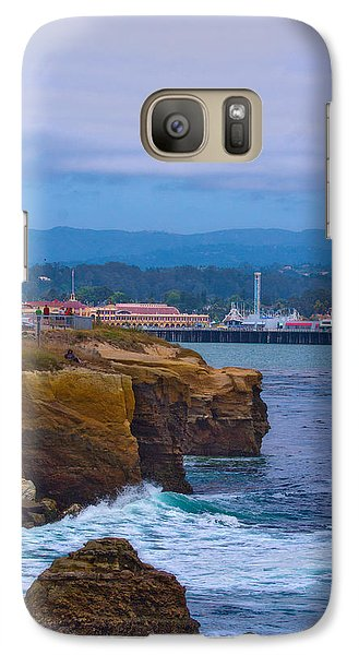 Galaxy Case featuring the photograph Cliff Drive by Tom Kelly