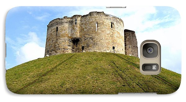 Galaxy Case featuring the photograph Clifford's Tower York by Scott Lyons
