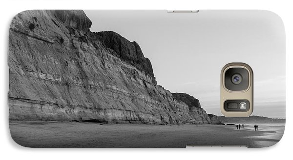 Galaxy Case featuring the photograph Cliffs At Torrey Pines Beach by Scott Rackers