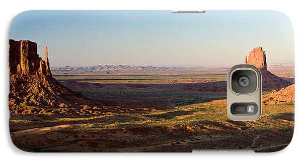 Cliffs On A Landscape, Monument Valley Galaxy Case by Panoramic Images