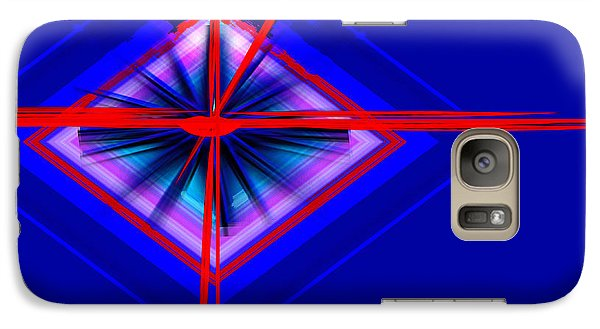 Galaxy Case featuring the painting Climate Change The Clock Is Ticking by Andrew Penman