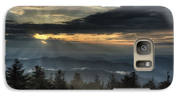 Galaxy Case featuring the photograph Clingman's Dome Sunset by Coby Cooper