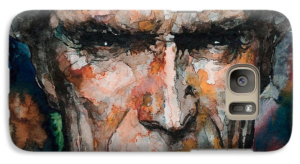 Galaxy Case featuring the painting Clint Eastwood by Laur Iduc